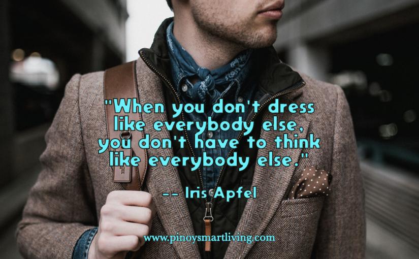 Dress Different, ThinkDifferent