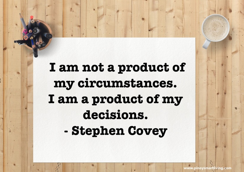 You are a Product of YourDecisions